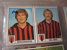 FIGURINA EDIS CALCIATORI 1977-78 BERGAMASCHI-DEL NERI FOGGIA NUMERI 89-90 NUOVA