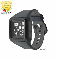 MetaWatch STRATA Stealth (Black) WATERPROOF Men's SmartWatch for Samsung Android