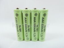 4 AAA 600mAh Ni-Mh Rechargeable Battery for Solar Landscape Path Lights D4