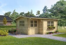 BEST DEAL!!! log cabin ALPINA log cabin 5m x 4m, 44 mm DG