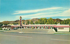 BOULDER CITY NV MOORE'S MOTEL HWYS. 93-466 1953 CHROME P/C