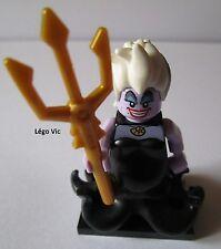Légo 71012 Minifig Figurine Série Disney Ursula + Socle