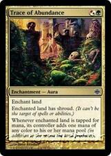 TRACE OF ABUNDANCE Alara Reborn MTG Gold Enchantment — Aura Com