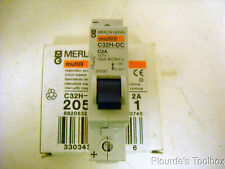 Unused Merlin Gerin C32H 1P DC Mini Circuit Breaker, 2A, 127V, C32H-DC, 20532