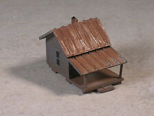 Z Scale Hunting Camp Cabins weathered, part # 340082