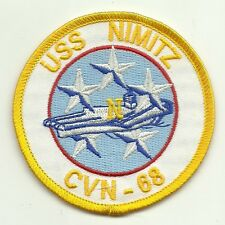 Navy USS Nimitz CVN-68 PATCH