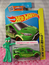 Case M/N 2015 i HOT WHEELS FORD TRANSIT CONNECT #98∞Green;pr5∞Test Facility∞