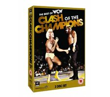 Official WWE - WCW: The Best of Clash Of The Champions (3 Disc Set) DVD