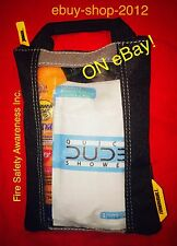 FIREFIGHTER PERSONAL Cancer Awareness Bag w/ Dude Wipes QS & Sunscreen 50+SPF