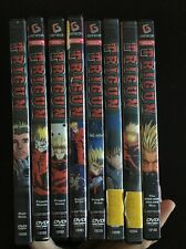 TRIGUN The Complete Set 8 DVD's ANIME Set Lot