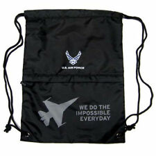 US AIR FORCE ARMED FORCES DRAWSTRING BAG BACKPACK TRAVEL STRING POUCH-BRAND NEW