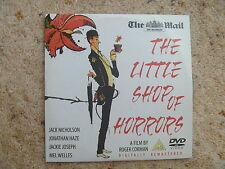 THE LITTLE SHOP OF HORRORS DVD  THE MAIL PROMO