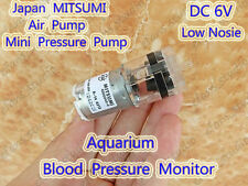 MITSUMI DC 6v Micro Blood Pressure Monitor Mini Aquarium Air Oxygen Pump for DIY