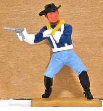 Timpo Toys Last Series 7th Cavalry White Gloves Wounded Pose Soldier Stetson
