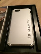 Element Solace Case for iPhone 6/6s Plus - Silver w/ Aluminum Crowns - MSRP $80