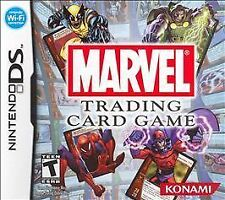 Marvel Trading Card Game [COMPLETE AND TESTED]  (Nintendo DS, 2007)