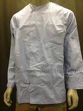 Mens Long Sleeve Medical Dental Scrubs Top Hospital Pajama Top Size Large