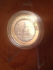2015 Royal Navy HMS Belfast £2 Two Pound Coin Excellent Shiny In Capsule Rarest