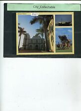 P387 # MALAYSIA USED PICTURE POST CARD * 3 MALACCA SCENERIES