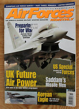 Air Forces October 2002; Saddam; F-15K Strike Eagle; Paraguay; RIAT; Recce 2002