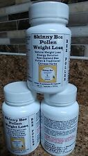 SKINNY BEE POLLEN NATURAL WEIGHT LOSS / STRONGEST SAFE APPETITE SUPPRESSANT 60!