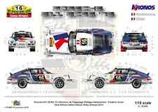 [FFSMC Productions] Decals 1/18 Porsche 911 Kronos # 16 East African Safari 2013