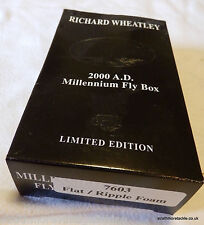 Richard Wheatley 2000 CRISTO milllennium Fly Box-RIPPLE piatta / ondulazione MINT BOXED