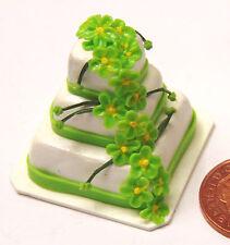 1:12 Escala de tres niveles Pastel De Bodas Casa de muñecas en miniatura Partido alimentos Accesorio me