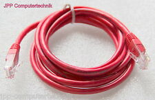 10 Stück 180cm Netzwerkkabel Patchkabel Cat5 Internet Switch 5 Port ISDN Rj 45
