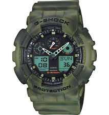 Casio G-Shock Men's Camo Marble Ana-Digi Watch GA100MM-3A