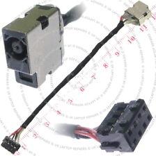 HP Pavilion TouchSmart piezas para alimentación 11-e015NR Dc Jack Hembra Con Cable De Alambre