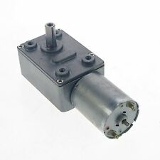 12V 10RPM Square Geared Gearhead DC Motor High Torque Output Heavy Duty