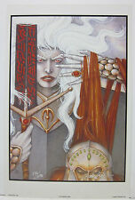 Vanishing Tower by Robert Gould Signed and Numbered Print of Elric