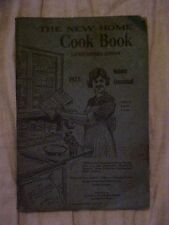 1925 The New Home Cook Book, Revised Edition Springfield IL Cookbook