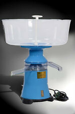Milk cream electric centrifugal separator Plastic 100L/h FOR EXPORT NEW!