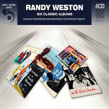 Randy Weston SIX (6) CLASSIC ALBUMS Jazz A La Bohemia WITH THESE HANDS New 4 CD