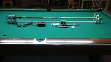 DELUX POOL CUE REPAIR LATHE+  BED EXTENSION CONSTANT SPEED CONTROL HOW TO MANUAL