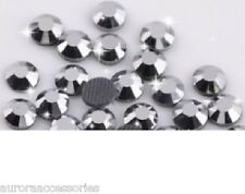 3mm Excellent Quality Hot Fix/Iron On Mine Silver Flatback HOTFIX SS10