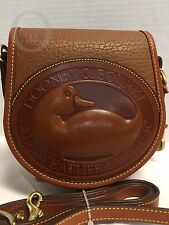 NWOT*R150*Dooney & Bourke* AWL *DUCK Cross Body Bag*British Tan #16308S