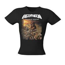 HELLOWEEN - Walls Of Jericho  Girlie Girl Damen Woman Shirt - Größe Size L - NEU