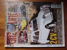 $$v Revue Gazoline N°110 2CV Ambulance  DKW  Rene Bonnet Djet 1  Clement-Bayard