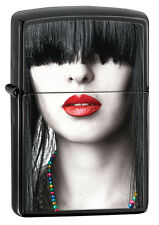 Original ZIPPO Benzin Feuerzeug Woman Red Lips ...............Z1531