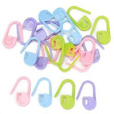 20pcs Assorted Color Knitting Crochet Locking Stitch Markers Multi-Purpose Craft