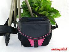 SLR DSLR Camera Bag case For CANON EOS 60D 7D 700D 6D 100D 650D M PowerShot pink