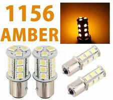 1156 BA15S 18 SMD 5050 Yellow/Amber Tail Turn Signal 18 LED Car Light Bulb Lamp