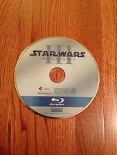 Star Wars Episode III: Revenge Of The Sith Blu Ray Movie Blu-ray disk Mint Rare