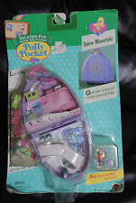 Mattel Polly Pocket Vacation Fun Travel Playset SNOW MOUNTAIN New Sealed 1996