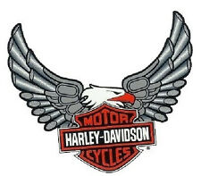 Harley Davidson Aufkleber Windshield Adler Bar + Shield Eagle Decal 19x20cm Top