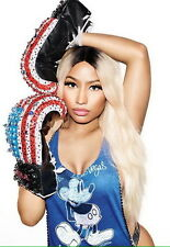 "069 Nicki Minaj - USA Rap HIPHOP SEX Star Great Singer 14""x20"" Poster"