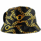 Gold Chains Bucket Hat 5 Panel snapback hater NEW